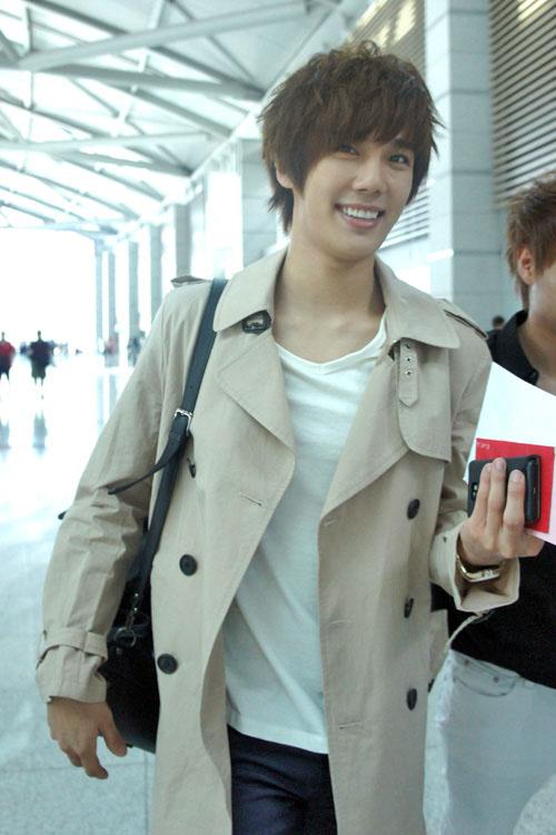 Jung Min Boyfriend Park Jung Min Viajo Para